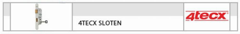 4Tecx Sloten